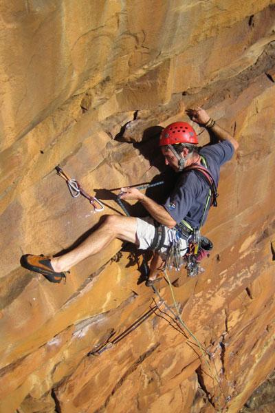 trad-climbing